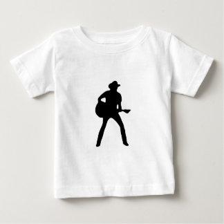 Silhouette1 ベビーTシャツ