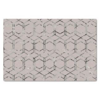 Silver Geometric Tissue Paper 薄葉紙