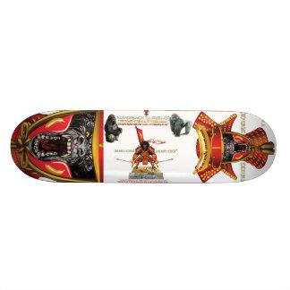 SILVERBACKの武士STUDIOS™のスケートボード 21.6CM オールドスクールスケートボードデッキ