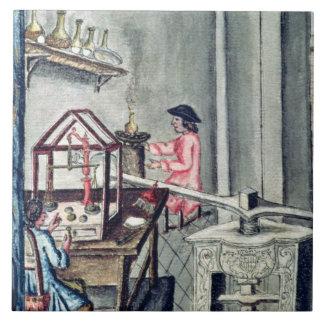 silversmith bからのSilversmithsの研修会、 タイル