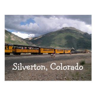 Silvertonのコロラド州の郵便はがき ポストカード
