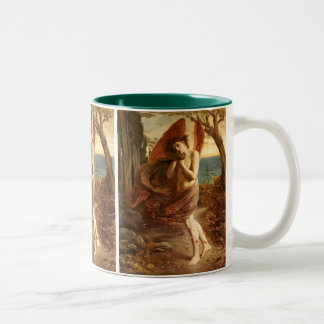 Simeon Solomon: 秋の愛 ツートーンマグカップ