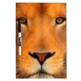 Simhaのライオンの顔 ホワイトボード