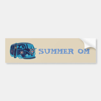 Simmer Pm Hippie Van Bumper Sticker バンパーステッカー