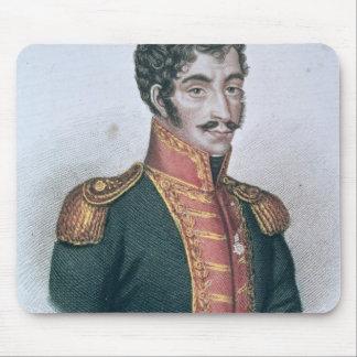 Simon Bolivarのポートレート マウスパッド