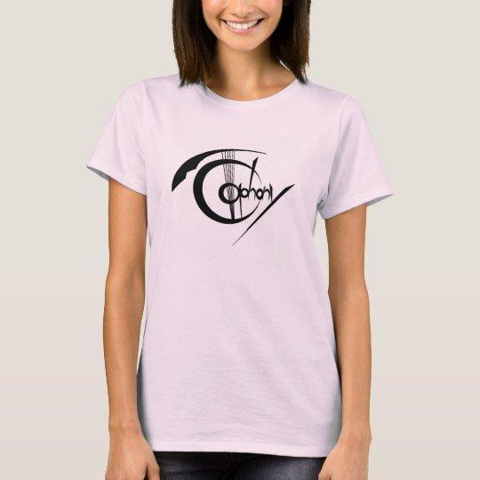 Simple Logo Ladies T-Shirts (T-TLM01) Tシャツ