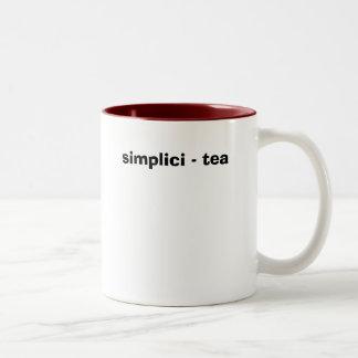 simplici -茶 ツートーンマグカップ
