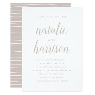 Simplicity | Wedding Invitation カード