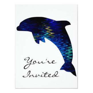 SimplyTonjiaのベニス風のイルカの招待状 カード