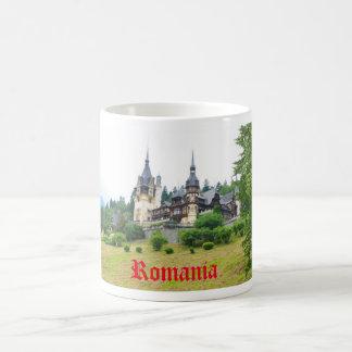 Sinaia、ルーマニアのPelesの城 コーヒーマグカップ