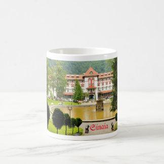 Sinaia、ルーマニア コーヒーマグカップ