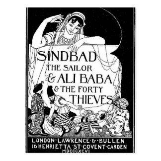 Sinbad船員カバー ポストカード