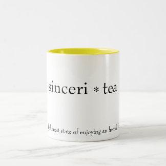 """""""sinceri茶""""マグ ツートーンマグカップ"""