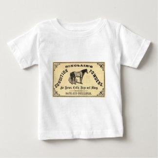 Sinclairの馬の粉! ベビーTシャツ