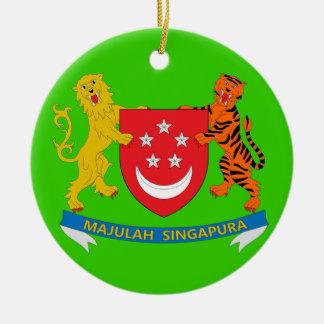 SINGAPORE*のカスタムなクリスマスのオーナメント セラミックオーナメント