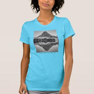 Sinopah山の反射のデザイン Tシャツ