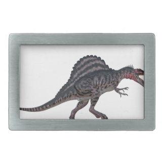 Sinosaurusの側面図 長方形ベルトバックル