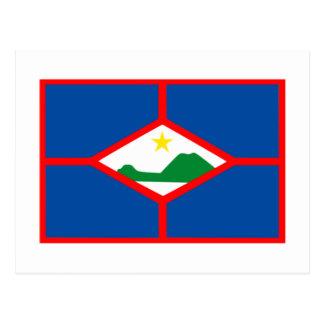 Sint Eustatiusの旗 ポストカード