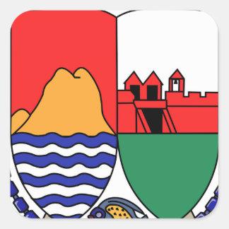 Sint Eustatiusの紋章付き外衣 スクエアシール
