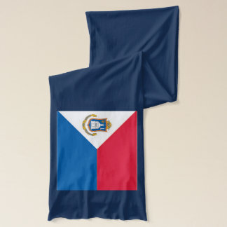 Sint Maartenの旗のライト級選手のスカーフ スカーフ