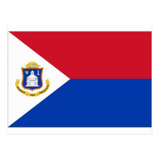 Sint Maartenの旗 ポストカード