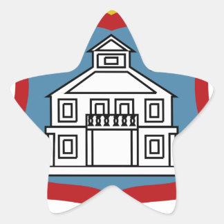 Sint Maartenの紋章付き外衣 星シール