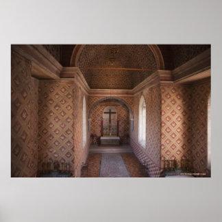 Sintraの国民宮殿の私用チャペル ポスター