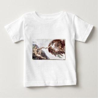 sistinのチャペルローマのミケランジェロの元のペンキ ベビーTシャツ