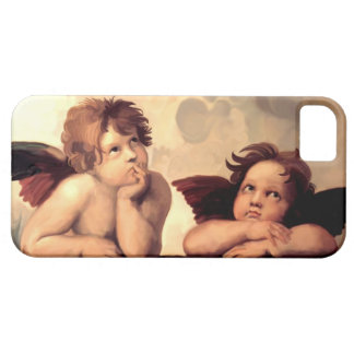 Sistineマドンナの天使Raffaelo Sanzio iPhone SE/5/5s ケース