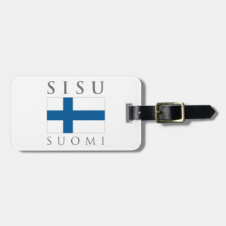 Sisu Suomi ラゲッジタグ