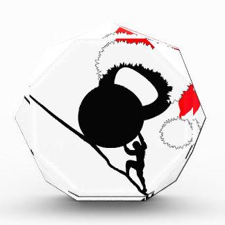 Sisyphus Kettlebellのメリークリスマス 表彰盾