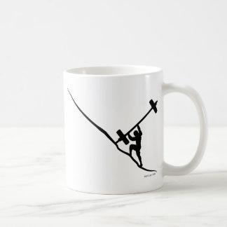 Sisyphus Olyの上昇 コーヒーマグカップ