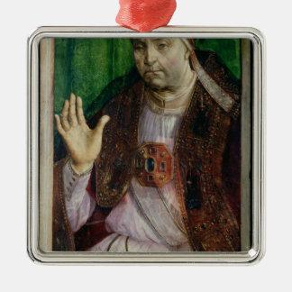 Sixtus IV c.1475のポートレート メタルオーナメント
