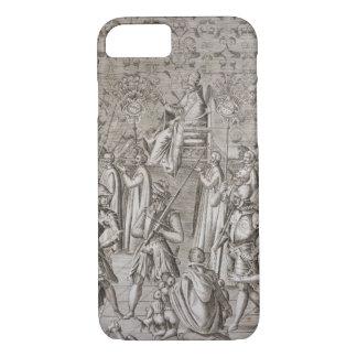 Sixtus V (1521-90年)法皇は式に運ばれます iPhone 8/7ケース