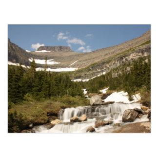 Siyehのくねり-氷河NP ポストカード