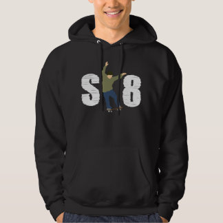 SK8スケート選手 パーカ