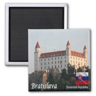 SK -スロバキア-ブラティスラヴァ-城 マグネット