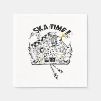 Skaの時間ハト時計 スタンダードカクテルナプキン