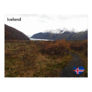 Skaftafell、アイスランド ポストカード