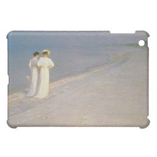 Skagenの南ビーチの夏の夕べ iPad Miniケース