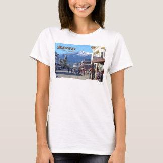 Skagwayの女性ベビードール(合う) Tシャツ
