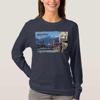 Skagwayの女性長袖 Tシャツ