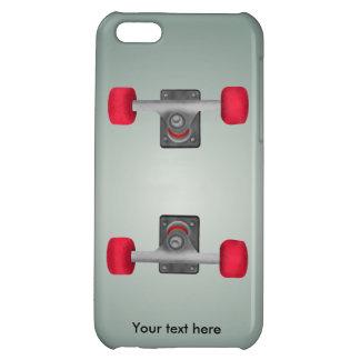 Skateboadの赤い車輪 iPhone5Cケース