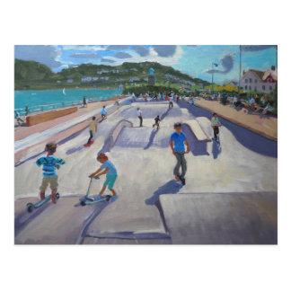 Skateboaders Teignmouth 2012年 ポストカード