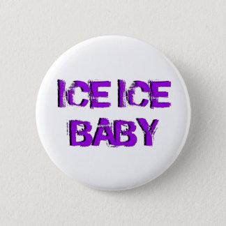SkateChickの氷の氷のベビー 5.7cm 丸型バッジ