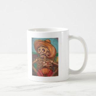 skeletoの詐欺のアコーディオンyのburro コーヒーマグカップ