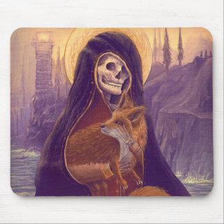 Skeleton&Foxの芸術のマグのマウスパッド マウスパッド