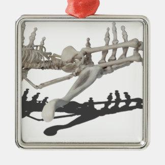 SkeletonHandsHoldingSkeleton081914コピー メタルオーナメント