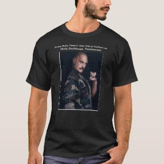 Skellyとして球のPawn®の真鍮の星Darryl Baldwin Tシャツ