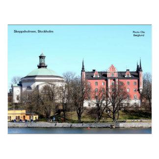 Skeppsholmen、ストックホルムの写真O… ポストカード